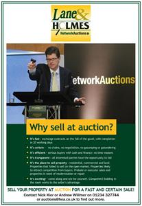 LANE & HOLMES PROUD TO ANNOUNCE PARTNERSHIP WITH NETWORK AUCTIONS