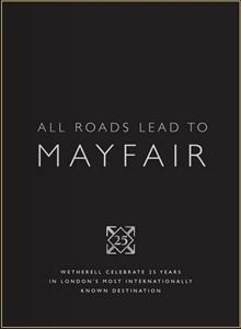 Mayfair Market Report from Wetherell - August 2011