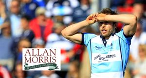 Allan Morris backs Chris Pennell at Worcester Warriors Rugby Club