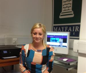 A new face at Mayfair Office