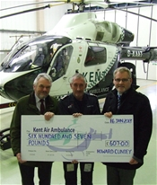 Howard Cundey are sponsoring Kent, Surrey & Sussex Air Ambulance for 2013