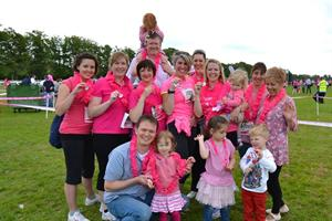 Allan Morris & Ashton Race for Life!