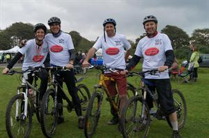 Mansbridge & Balment Raise over £1000 for St Luke's Hospice