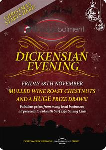Dickensian Evening  in Devon - 28th November