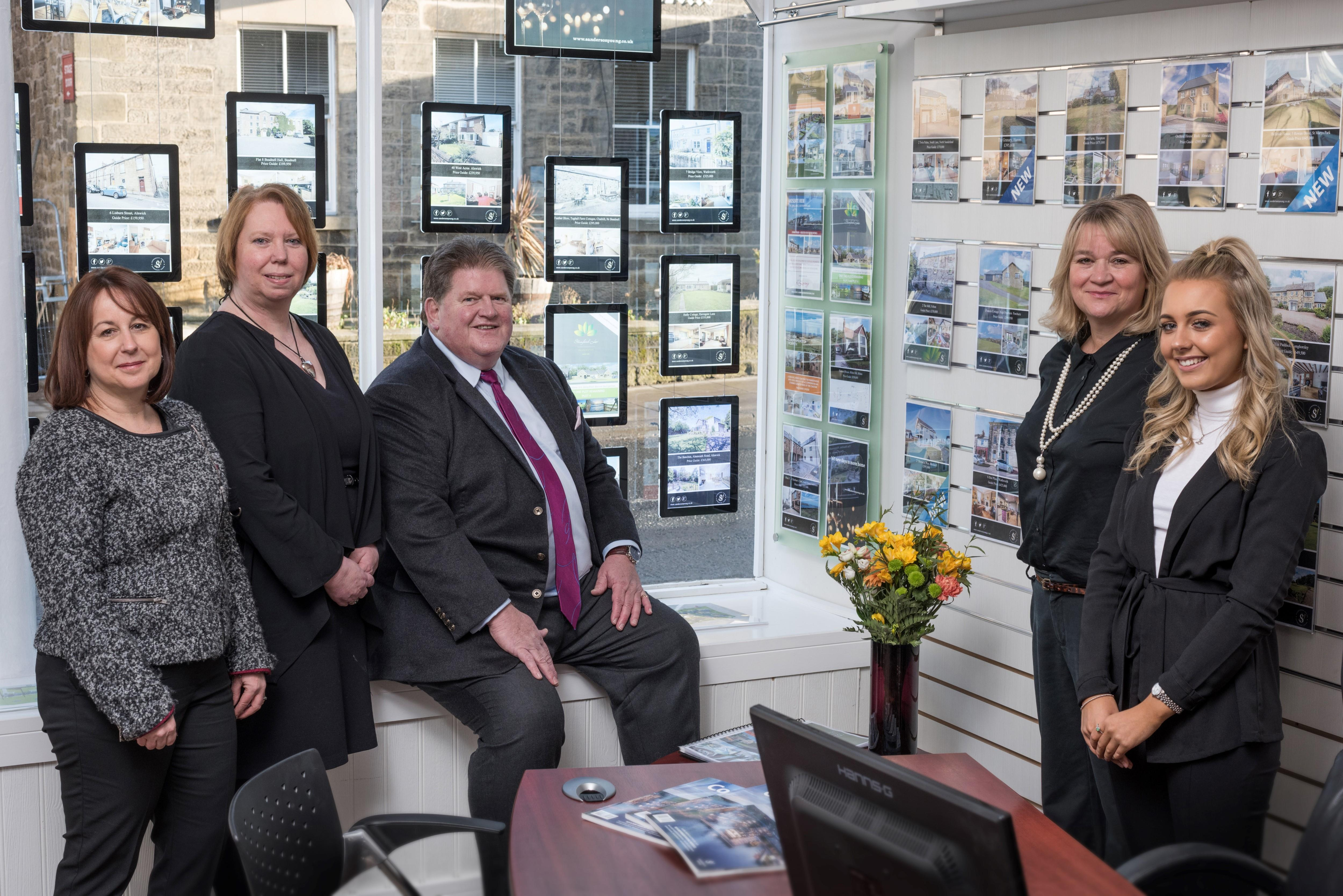 Sanderson Young launch their new flagship office in Alnwick